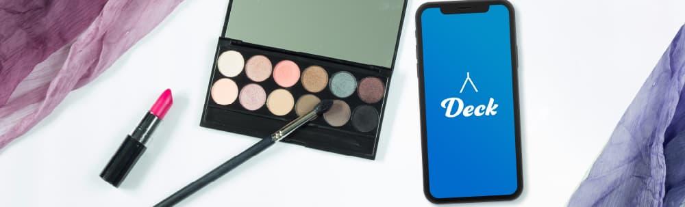 Deckの活用方法②オンライン接客 化粧品・美容器具編